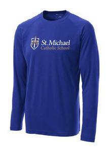 Performance T-Shirt Long Sleeve with Logo, Spirit Wear (1045)