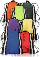 Reflective Sports Drawstring Backpack