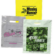Patch Handle Printed Bags (LDPE)