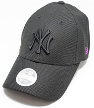 New Era 9Forty Neon Pop New York Yankees Cap Black Pink