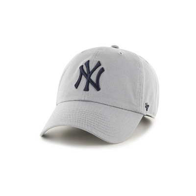 '47 New York Yankees Clean Up Cap  Storm Grey