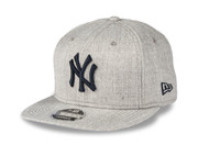 New Era 9Fifty New York Yankees Cap Heathered Grey