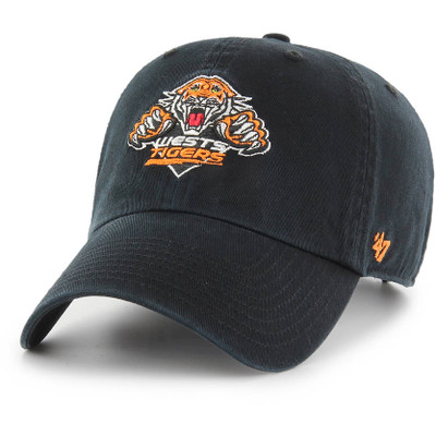 '47 West Sydney Tigers Clean Up Cap Navy