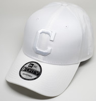 New Era 9Forty Tonal White Cleveland Indians Cap