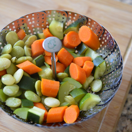 Lima Bean, Carrot and Zucchini Stage Three Baby Food Recipe