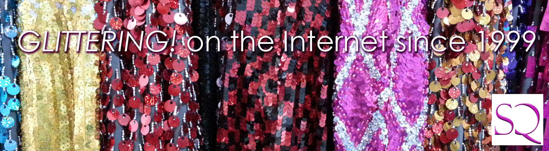 Close up picture of sequins sequence on a dresses and gowns made by SequinQueen