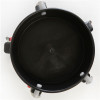 Grit Guard 5 Caster Bucket Dolly- Top View