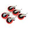Grit Guard 5 Caster Bucket Dolly Wheels
