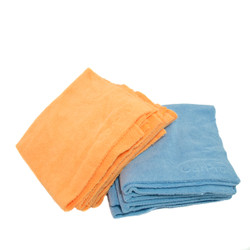 """CarPro 2 Face (No Lint) 16"""" x 16"""" - Blue/ Orange 10 Pack"""