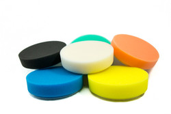 "6 pack Mix n Match 4"" Buff and Shine Foam Pads"