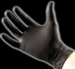 BlackSeal Large Nitrile Gloves - 100 pcs