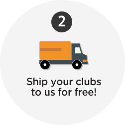 Ship your clubs to us for free!