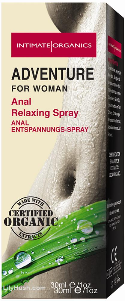 Intimate Organics Adventure Anal Relaxing Spray 30ml