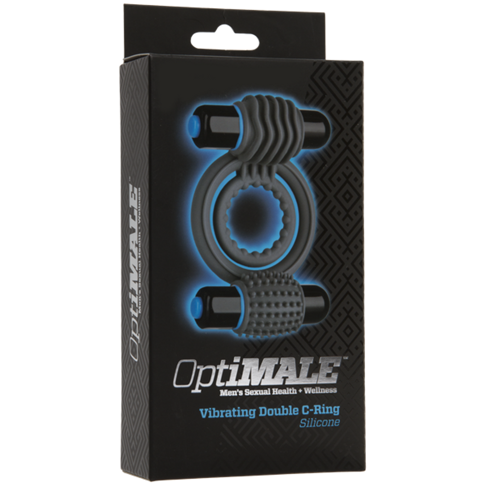 Doc Johnson Optimale Vibrating Double C-Ring