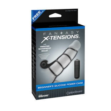 Pipedream Fantasy X-tensions Beginners Silicone Power Cage