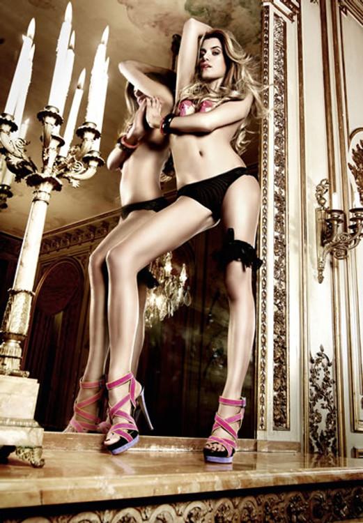Microfiber and Lace Bikini | Lily Hush
