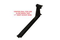 "ARM, 17"" INTERMEDIATE (CENTER) W/RAIL FOR 8"" x 17"" TRADE FIXTURES SCOOP BINS"
