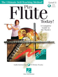 Play Flute Today! Level 1 (Book/CD Set)