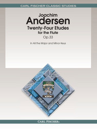 Joachim Andersen - Twenty-Four Etudes for the Flute Op.33