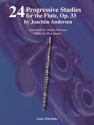 24 Progressive Studies for the Flute, Op. 33 by Joachim Andersen