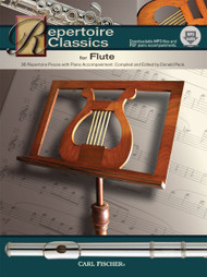 Repertoire Classics for Flute (Book/CD Set) by Donald Peck
