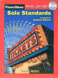 Music... for Life: Solo Standards for Flute or Oboe (Book/CD Set) by Andrew Balent