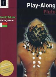 Universal Edition Play-Along Flute - World Music: Madagaskar (Book/CD Set)
