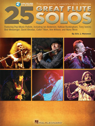 25 Great Flute Solos (with Audio Access) by Eric J. Morones