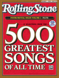 Selections from Rolling Stone Magazine's 500 Greatest Songs of All Time Instrumental Solos, Level 2-3: Volume 1 for Flute (Book/CD Set)