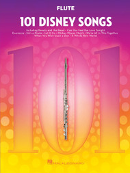 101 Disney Songs for Flute