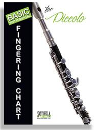 Basic Instrumental Fingering Chart for Piccolo