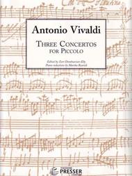 Antonio Vivaldi - Three Concertos for Piccolo by Zart Dombourian-Eby