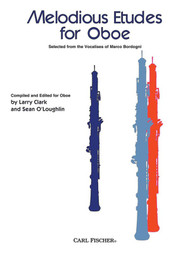 Melodious Etudes for Oboe by Larry Clark & Sean O'Loughlin