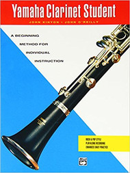 Yamaha Clarinet Student: A Beginning Method for Individual Instruction by John Kinyon and John O'Reilly