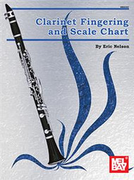 Clarinet Fingering and Scale Chart by Eric Nelson