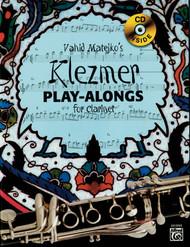 Vahid Matejko's Klezmer Play-Alongs for Clarinet (Book/CD Set)