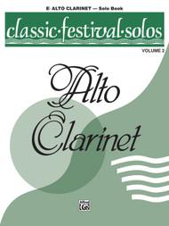 Classic Festival Solos, Volume 2 for E♭ Alto Clarinet