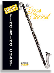 Basic Instrumental Fingering Chart for Bass Clarinet