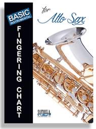Basic Instrumental Fingering Chart for Alto Sax
