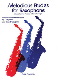 Melodious Etudes for Saxophone by Larry Clark & Sean O'Loughlin