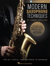 Modern Saxophone Techniques by Frank Catalano (with Video Access)