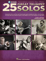 25 Great Trumpet Solos by Eric J. Morones (with Audio Access)