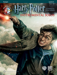 Alfred's Instrumental Play-Along - Harry Potter Instrumental Solos, Selections from the Complete Film Series, Level 2-3 for Trumpet (Book/CD Set)