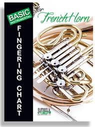 Basic Instrumental Fingering Chart for French Horn