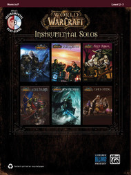Alfred's Instrumental Play-Along - World of Warcraft Instrumental Solos, Level 2-3 for Horn in F (Book/CD Set)