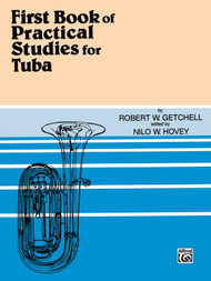 First Book of Practical Studies for Tuba by Robert W. Getchell