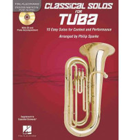 Hal Leonard Instrumental Play-Along - Classical Solos for Tuba by Philip Sparke (Book/CD Set)