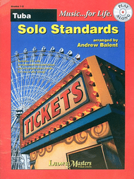 Music... for Life: Solo Standards for Tuba, Grades 1-2 by Andrew Balent (Book/CD Set)