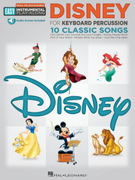 Hal Leonard Easy Instrumental Play-Along - Disney for Keyboard Percussion: 10 Classic Songs (with Audio Access)