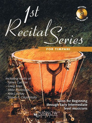 1st Recital Series for Timpani (Book/CD Set)